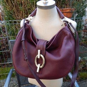 Sutra Hobo Deepgrain Leather Diane Von Furstenberg